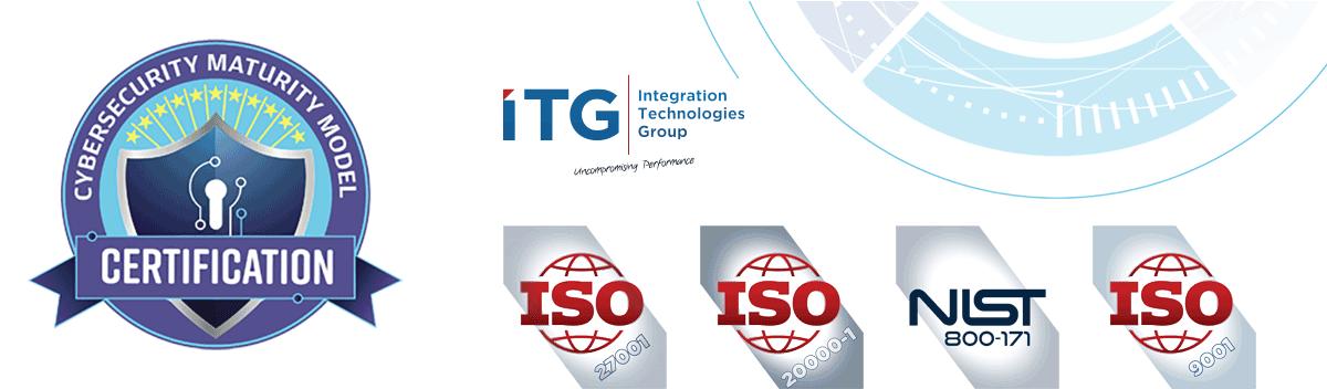 DoD CMMC, ISO, NIST Webinars by ITG